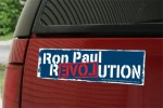 Ron Paul Revolution Bumper